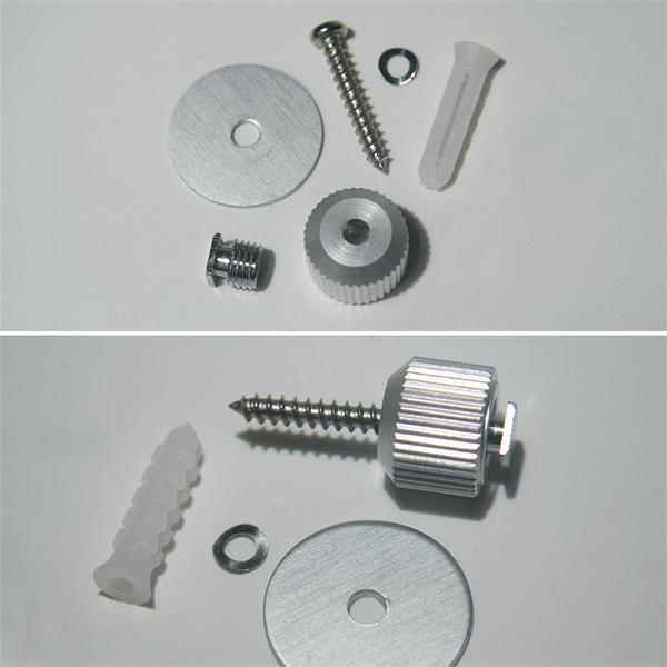 Deckenbefestigung für Aluminium-Profile