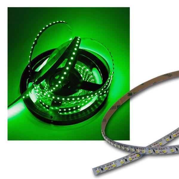 40cm FLEX SMD Streifen 48 LEDs GRÜN / PCB-weiß