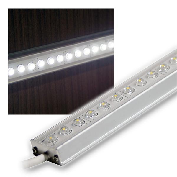 Aluminium LED Lichtleiste weiß 25cm 12V DC DESIGN