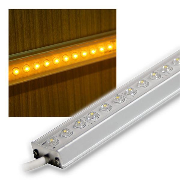 ALU LED Lichtleiste gelb 50cm 12V DC DESIGN