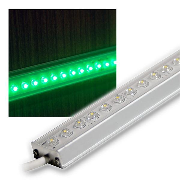 ALU LED Lichtleiste grün 50cm 12V DC DESIGN
