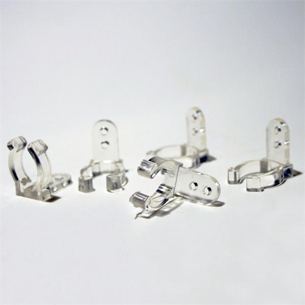 transparente Befestigungsclips für LED Lichtschläuche