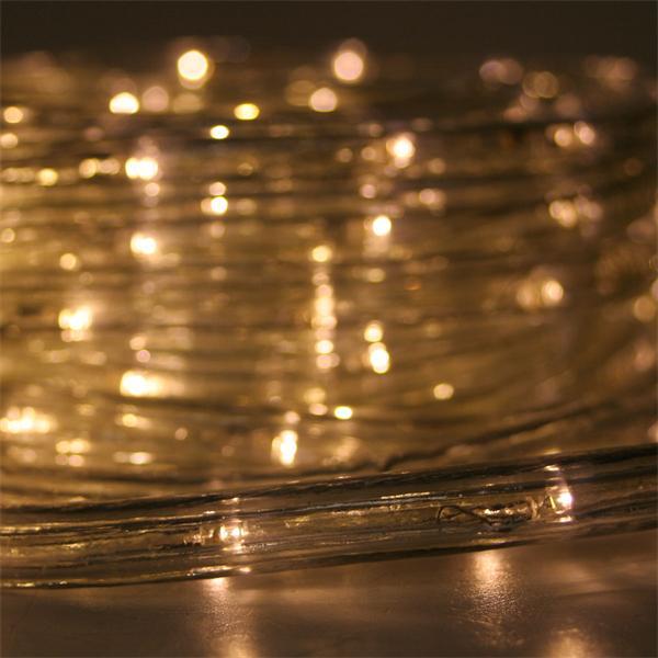 LED Beleuchtung für festliche Stimmung mit warmweißer Leuchtfarbe