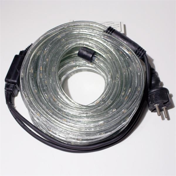 LED Lichtschlauch mit Anschlussleitung für direkten Anschluss an 230V