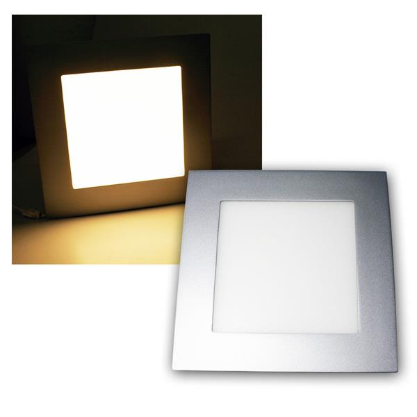 LED Licht-Panel CTP-20 warmweiß 20x20cm, dimmbar