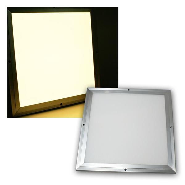 LED Licht-Panel CTP-30 warmweiß, 30x30cm dimmbar