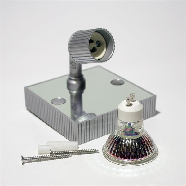LED Strahler im zeitloses Design und GU10 LED Leuchtmittel