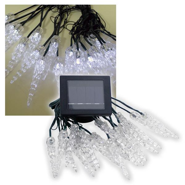 "Solar LED-Lichterkette ""Winterzauber"" 20 LEDs weiß"