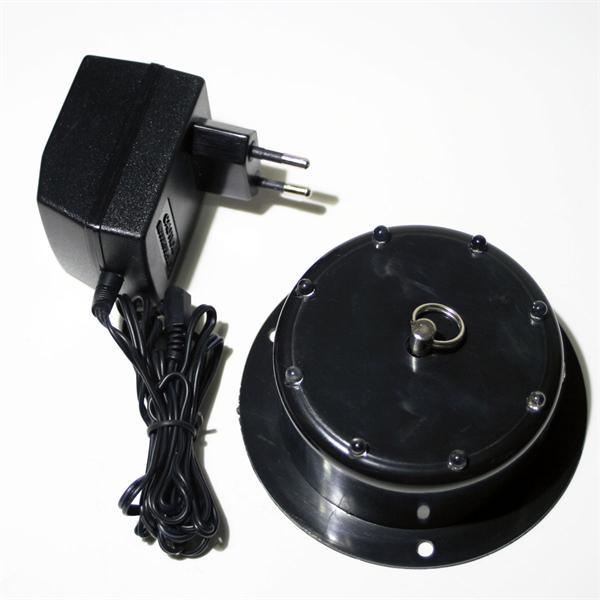 Deckenmotor für Spiegelkugeln mit Netzteil für 230V