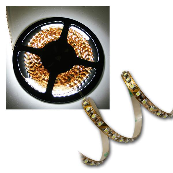 500cm FLEX SMD Streifen 600 LEDs pur-weiß BRAUN