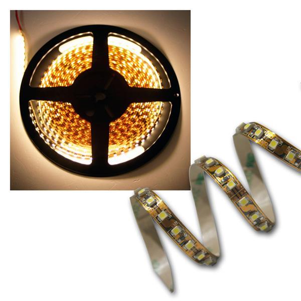 500cm FLEX SMD Streifen 600 LEDs warm-weiß BRAUN