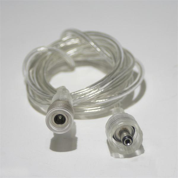flexibles und transparentes Verlängerungskabel für LED Streifen