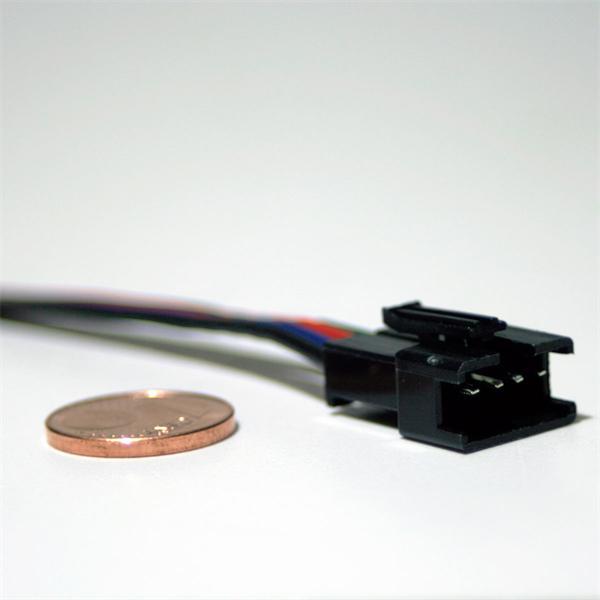15cm langes Anschlusskabel für flexible RGB LED Streifen