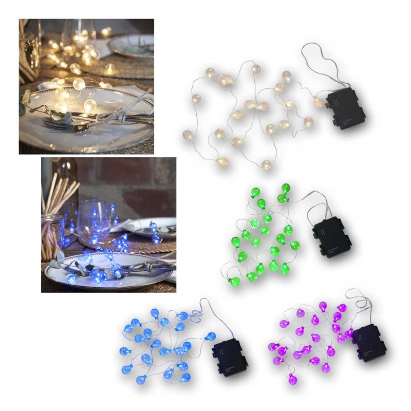 LED Fairy Lights Globe Light | Decolight | Battery, timer