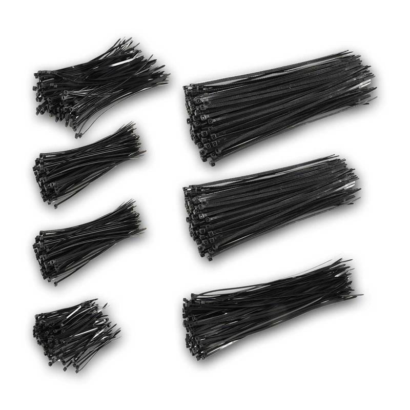 Kabelbinder | 700teiliges Sortiment | hohe Zugkraft
