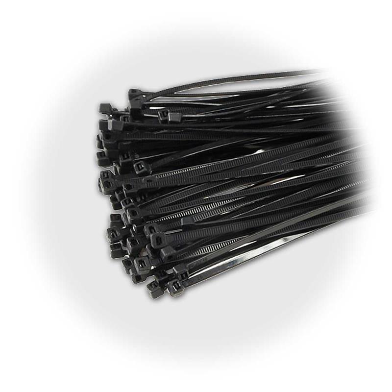Kabelbinder Sets in 7 Größen | schwarz, ab 100 Stück