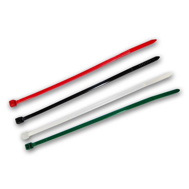 Kabelbinder Sortimente | farbig sortiert | Kabelstrapse bunt