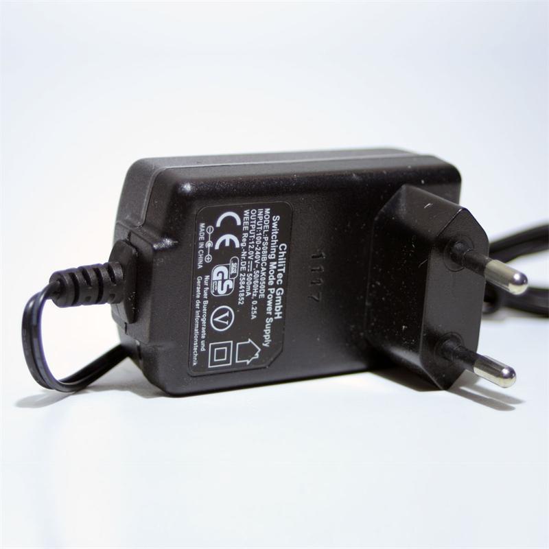 Stecker-Netzteil CTN-1206 Netzgerät 12V 0,5A/6W