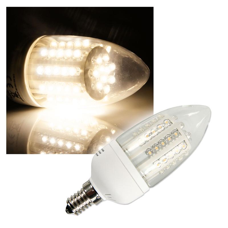 led strahler candle e14 warm wei kerzen lampe. Black Bedroom Furniture Sets. Home Design Ideas