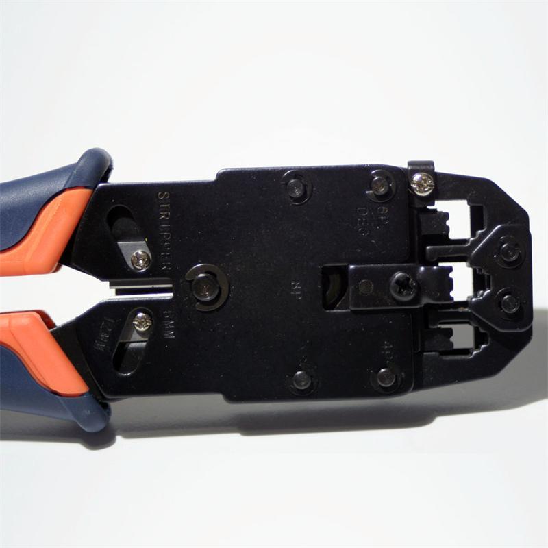 Crimpzange für RJ10 / RJ11 / RJ12 / RJ45