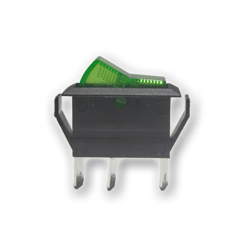 Upotettava-keinuvipukytkinr vihreä - Näytöt, kytkimet ja varusteet - 9913175 - 1