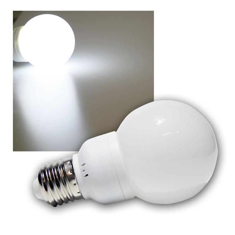 led lampe in gl hlampenform wei 18 leds e27. Black Bedroom Furniture Sets. Home Design Ideas