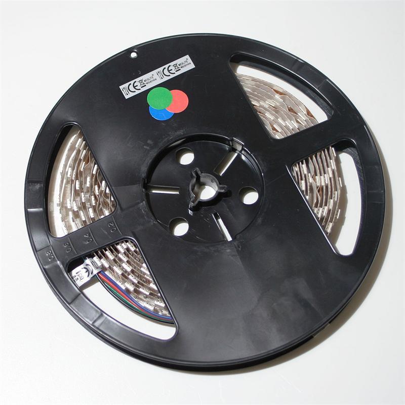 40cm SMD LED FLEX-Strip RGB indoor 24 LEDs  PCB-Br