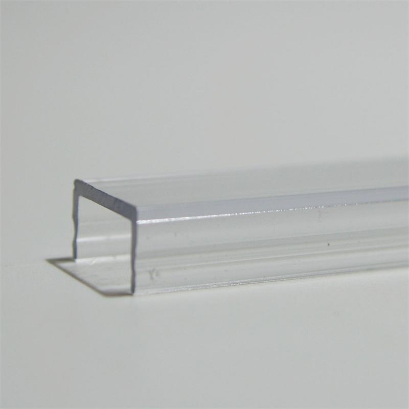 1m Abdeckung für Aluminium-Profil TRANSPARENT