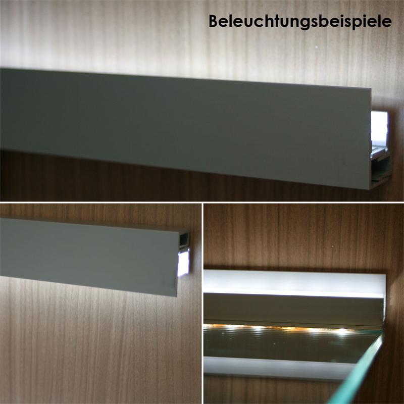 LED aluminum profil BLENDE for LED stripes, 1m