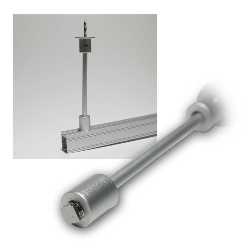 Ceiling spacer for aluminum profiles, 100mm