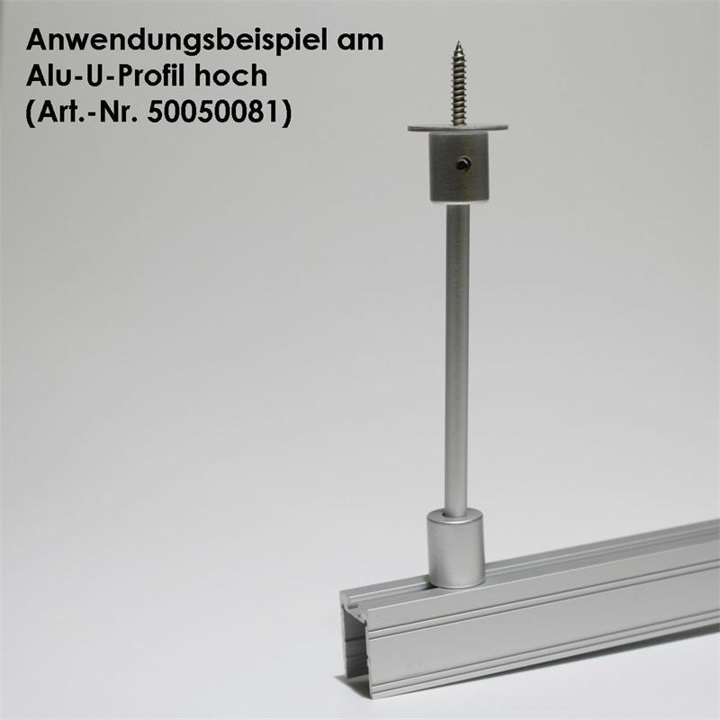 Deckenabstandhalter für Alu Profile (siehe Beschr)