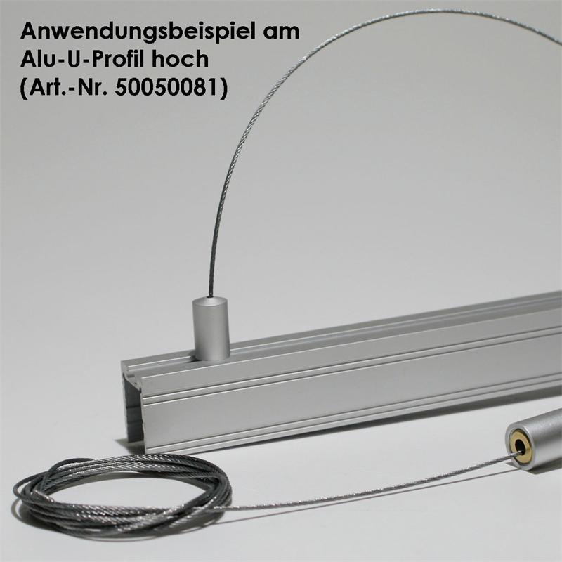 Stahlseilabhängung Für Alu Profile (siehe Beschr