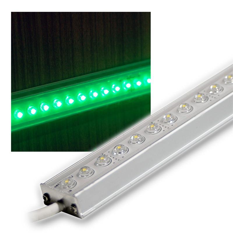 Aluminium LED Lichtleiste grün 50cm 12V DC DESIGN