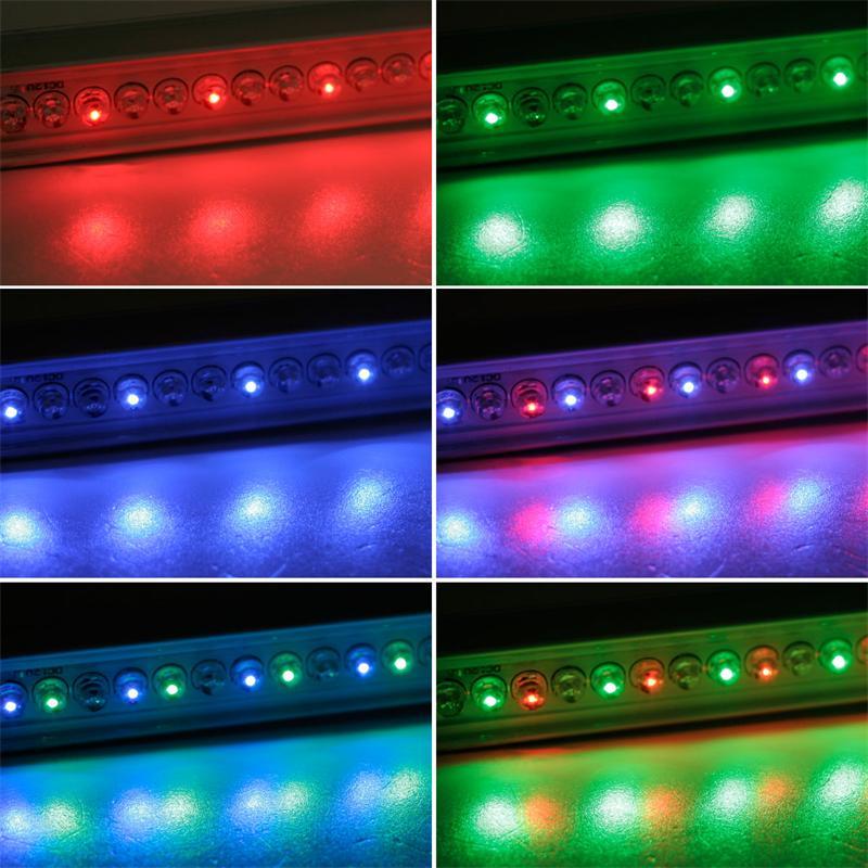 rgb led lichtleiste im aluminiumgeh use 25cm kaufen highlight led. Black Bedroom Furniture Sets. Home Design Ideas