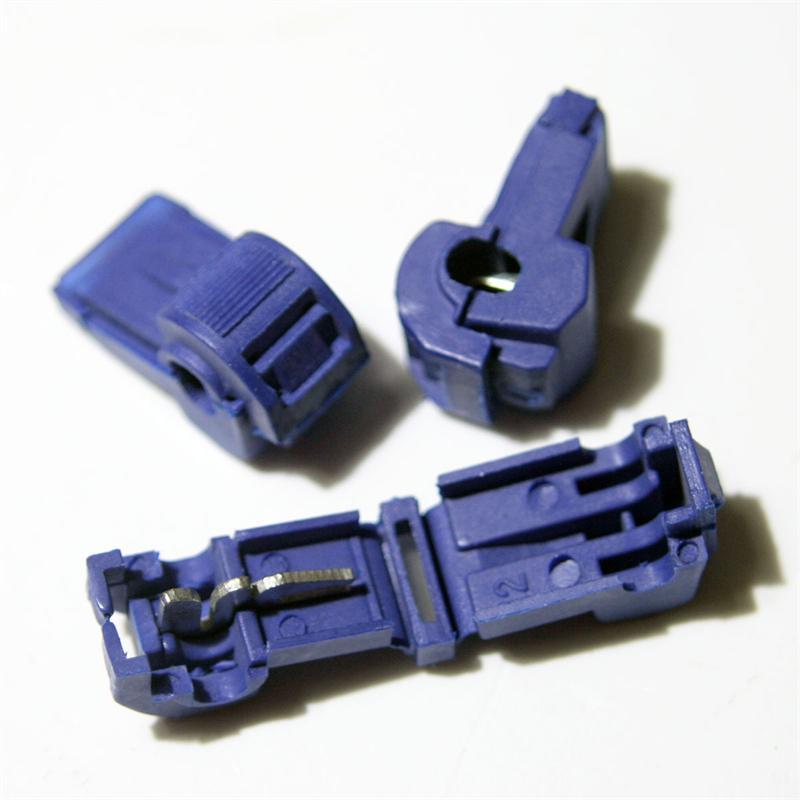 10 Abzweigverbinder fü Kabelschuhe BLAU 1,5-2,5mm²