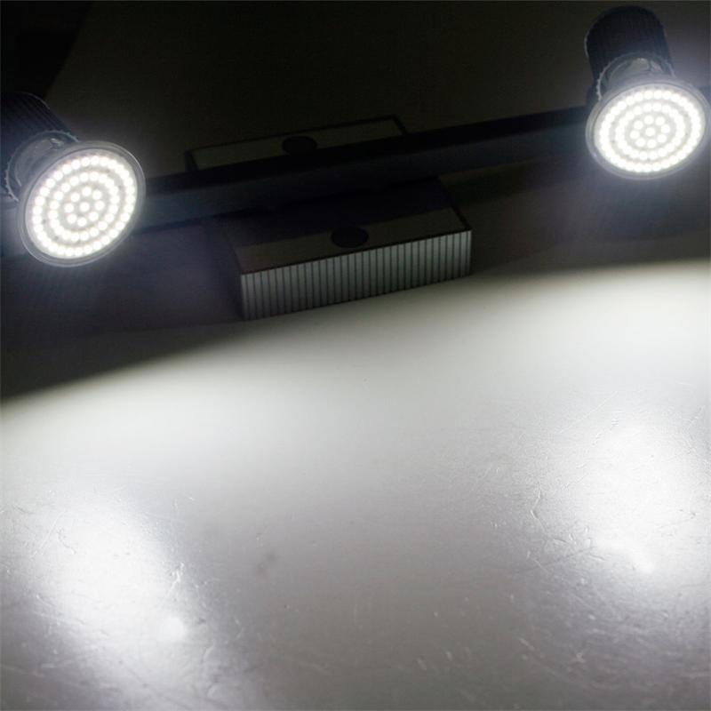 LED Leuchte Montana 2x 60er SMDs kw Alu/Chrom