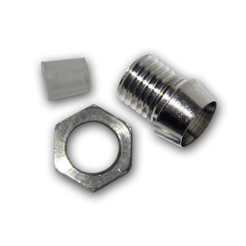 10 Metallfassungen Schraube für 3mm Standard LEDs
