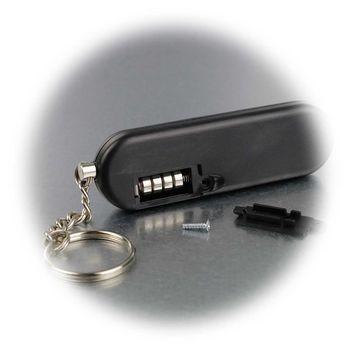 Security Taschenalarm Personenalarm Panik Alarm Mobil 120 dB Doppelsirene Hillfe