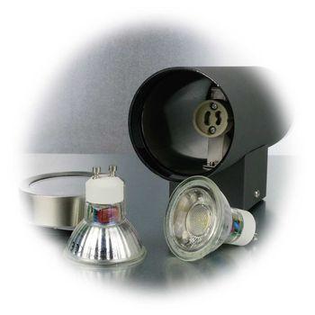 Détails sur LED Applique Murale Anthracite/Inox Extérieur IP44 Lampe  D\'Extérieur Façade