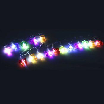 16 LED Lichterkette Frohe Weihnachten Weihnachtsdeko Deko Weihnachtsbeleuchtung